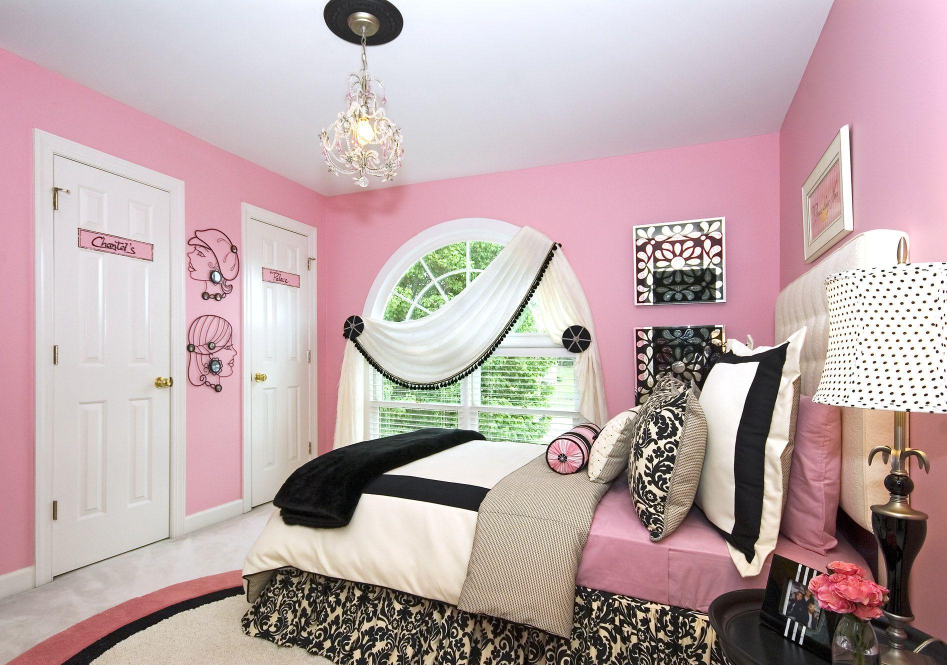 simple design tips for girls' bedrooms - https://midcityeast
