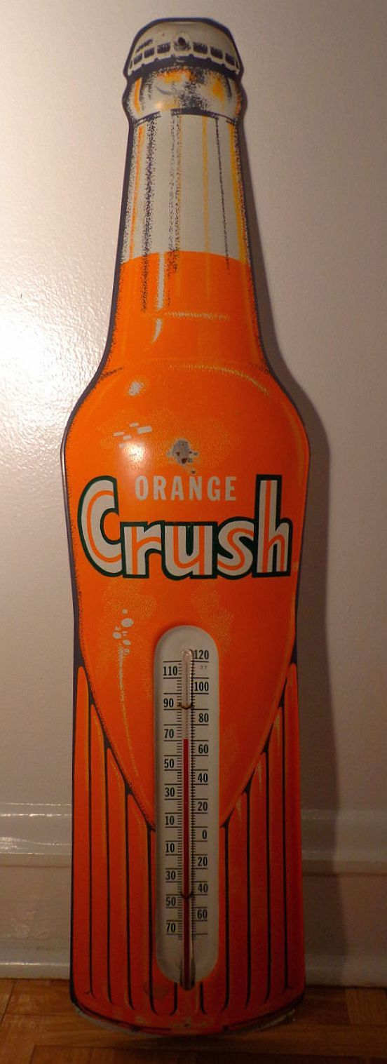 Orange Crush Bottle