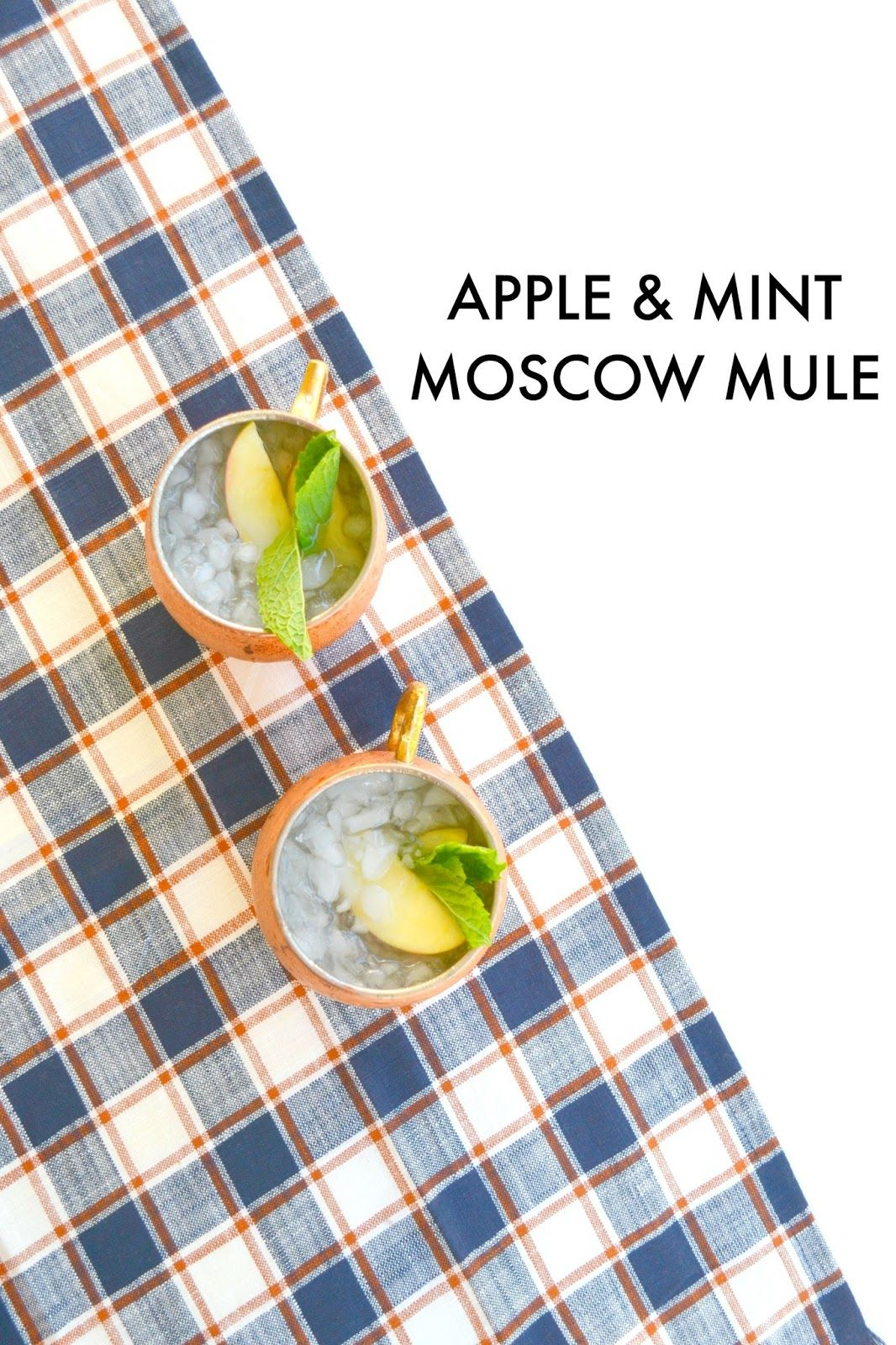 Apple & Mint Moscow Mule | Jess Loves This Life
