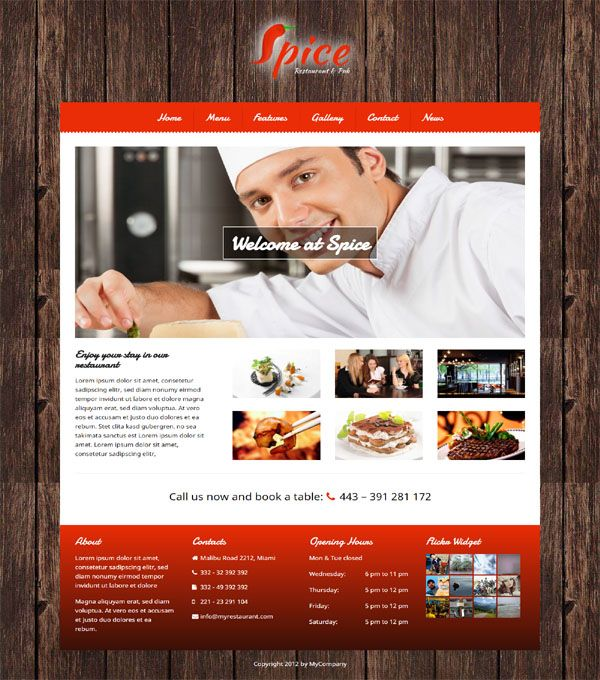 100 restaurant responsive wordpress themes in 2018 spice restaurant wordpress theme best wordpress restaurant theme restaurant responsive wordpress theme free download free wordpress forumfinder Image collections