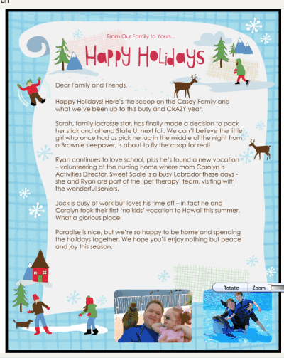 How To Create An Electronic Christmas Letter With Smilebox