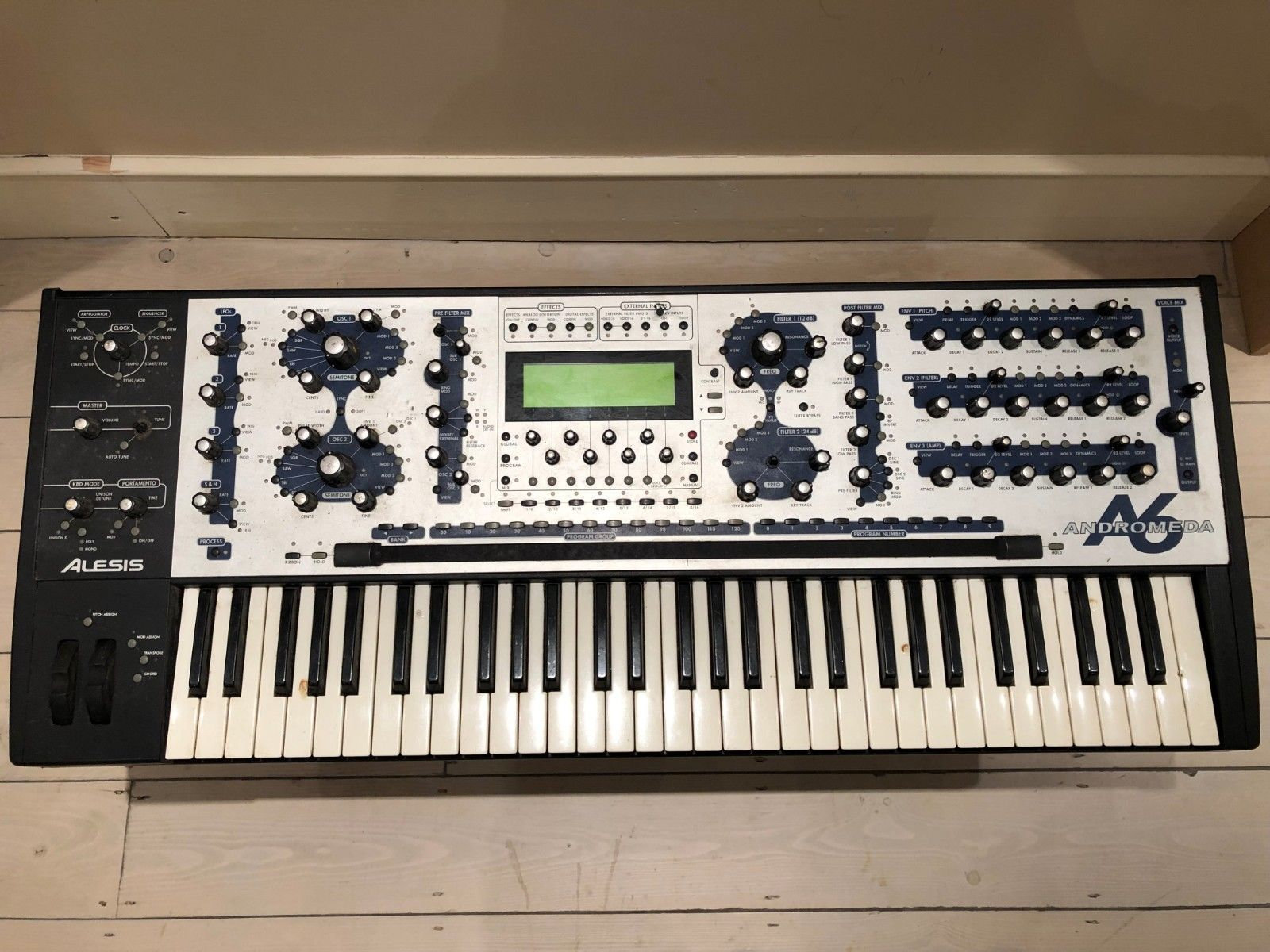 alesis andromeda a6 synthesizer synth ebay keyboards in 2019 keyboard drum machine. Black Bedroom Furniture Sets. Home Design Ideas