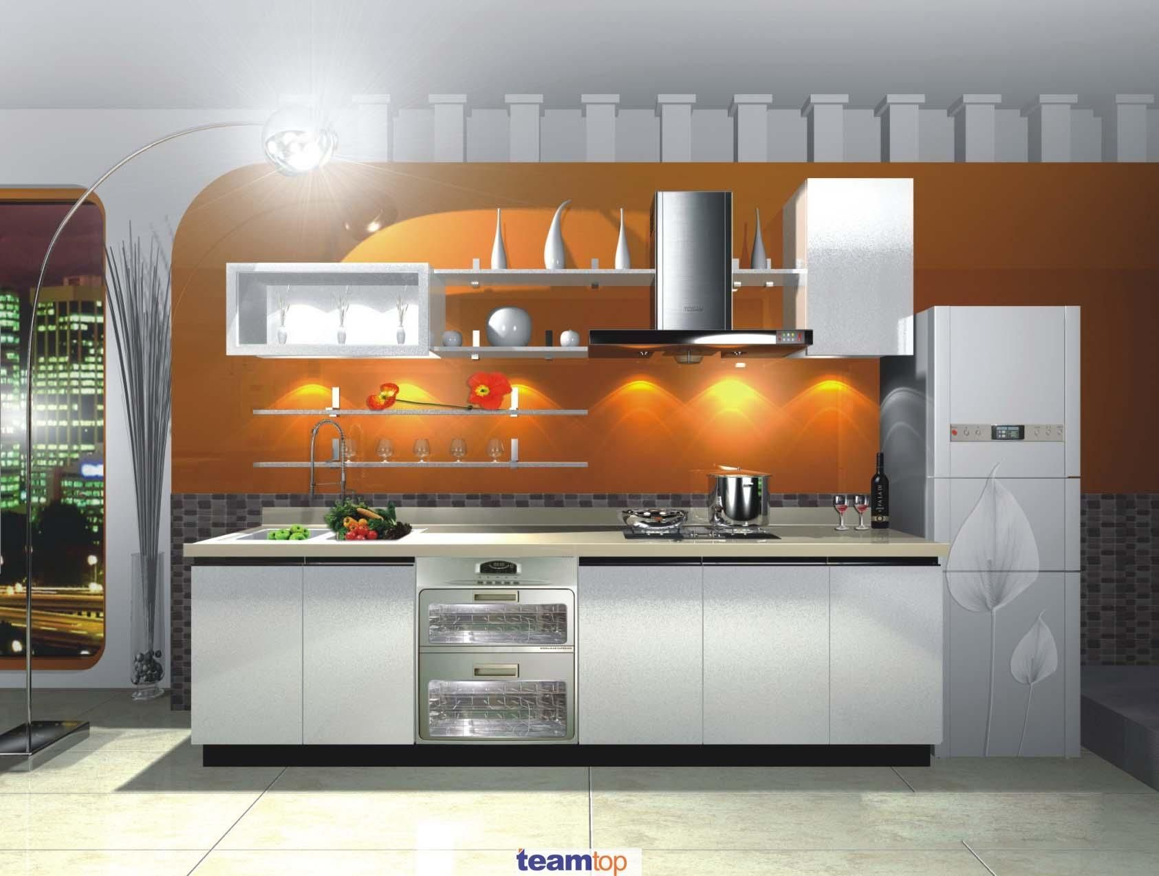 Pvc Kitchen Furniture Designs Melamine Pvc Lacquer Kitchen Cabinet With Simple F How To Update