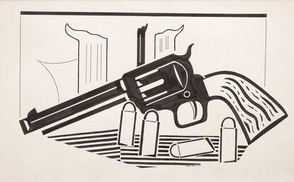 Revolver, 1925, by Stuart Davis