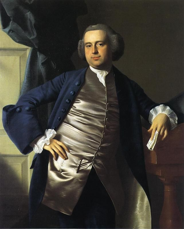 Moses Gill, 1764 By John Singleton Copley. Neoclassicism