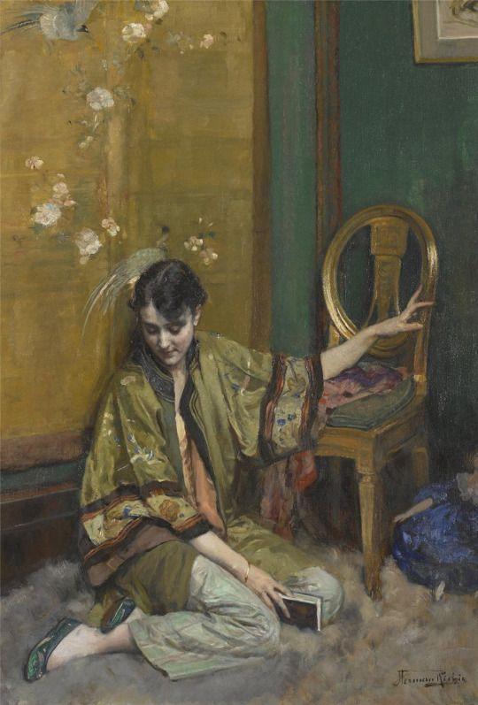 Herman Jean Joseph Richir (1866-1942) Le roman - Belgium - 1920s