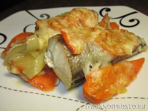 Запеченный минтай - пошаговый рецепт с фото | И вкусно и ...