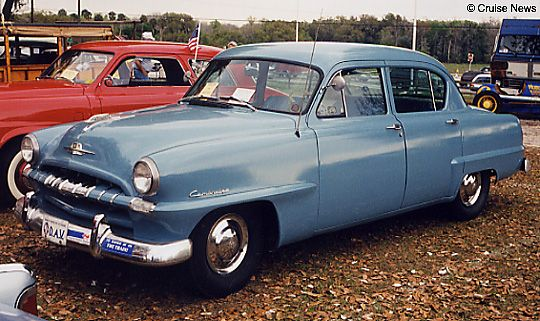 1953 Plymouth Cambridge 4 Door Sedan Plymouth 1950