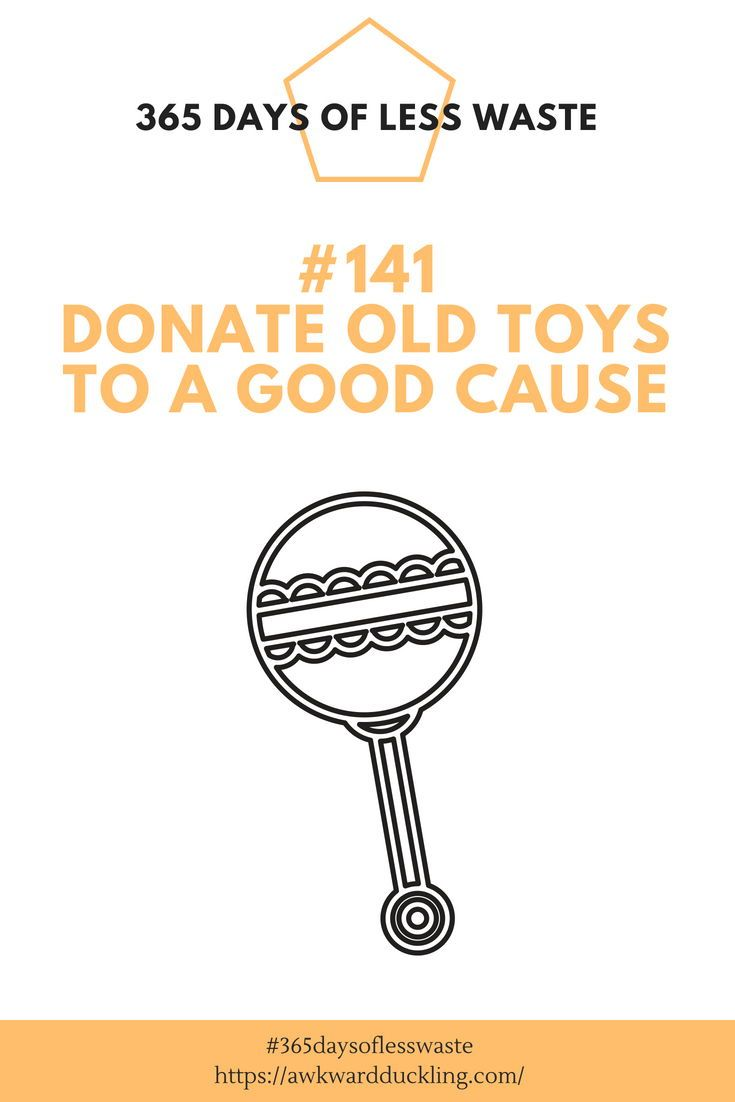 Toys for kids logo  Tip  of the  Days of Less Waste challenge Donate old toys to