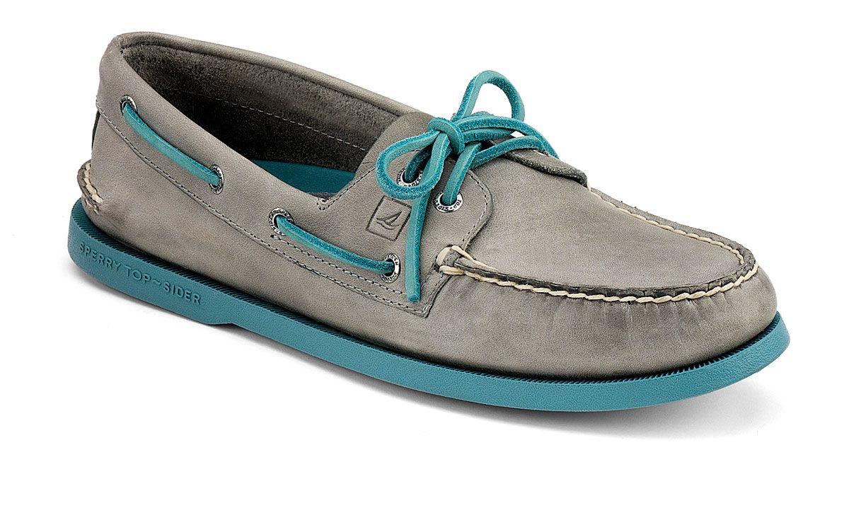 Color Pop 2-Eye Boat Shoe