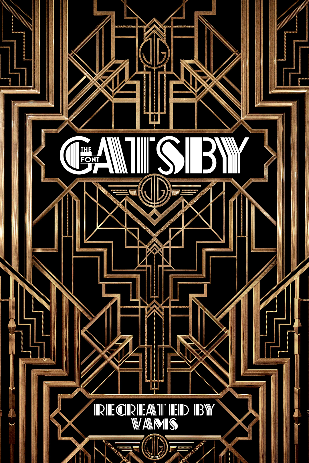 Free font of the great gatsby deco pinstripe on behance turn of free font of the great gatsby deco pinstripe on behance fandeluxe Image collections