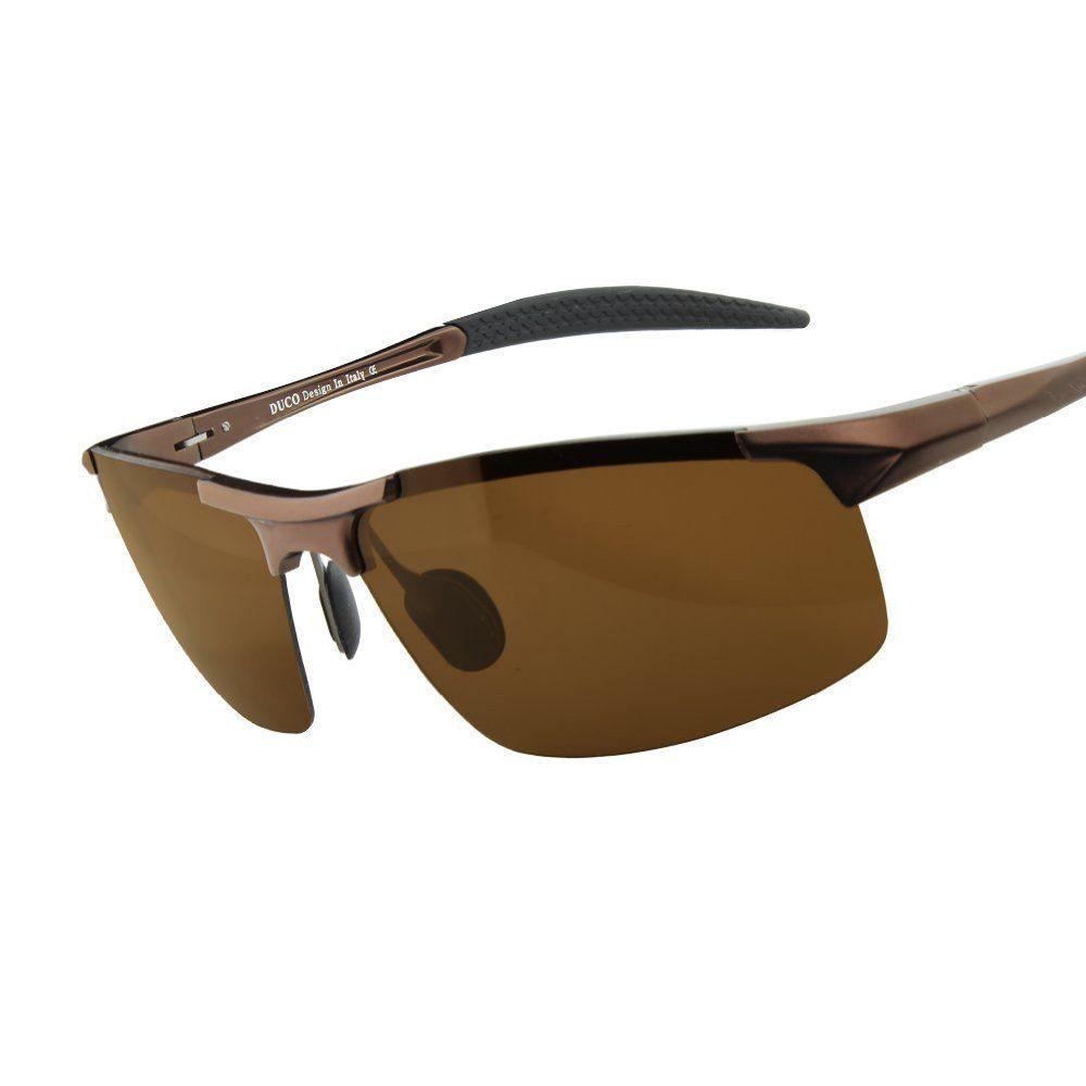 326c2e69f5 Save 0% off Duco Men s Driving Sunglasses Polarized Glasses Sports Eyewear  Fishing Golf Goggles 8177S  48