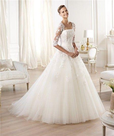 Princess Wedding Dress With Sleeves Jpg