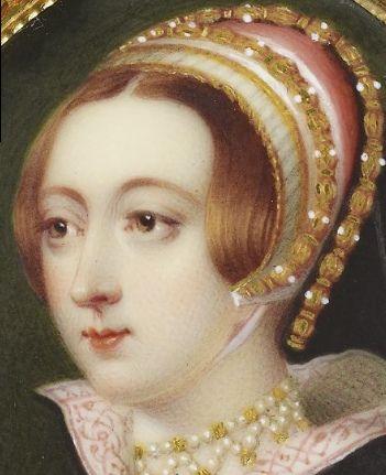 Detail of a portrait of a lady called Anne Boleyn' | Anne ...