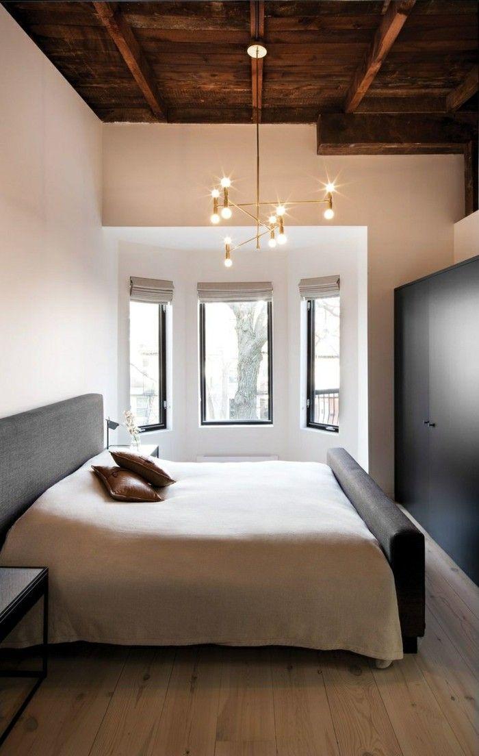 Wohnideen Schlafzimmer Holz wohnideen schlafzimmer mit holz und schöner leuchter schlafzimmer