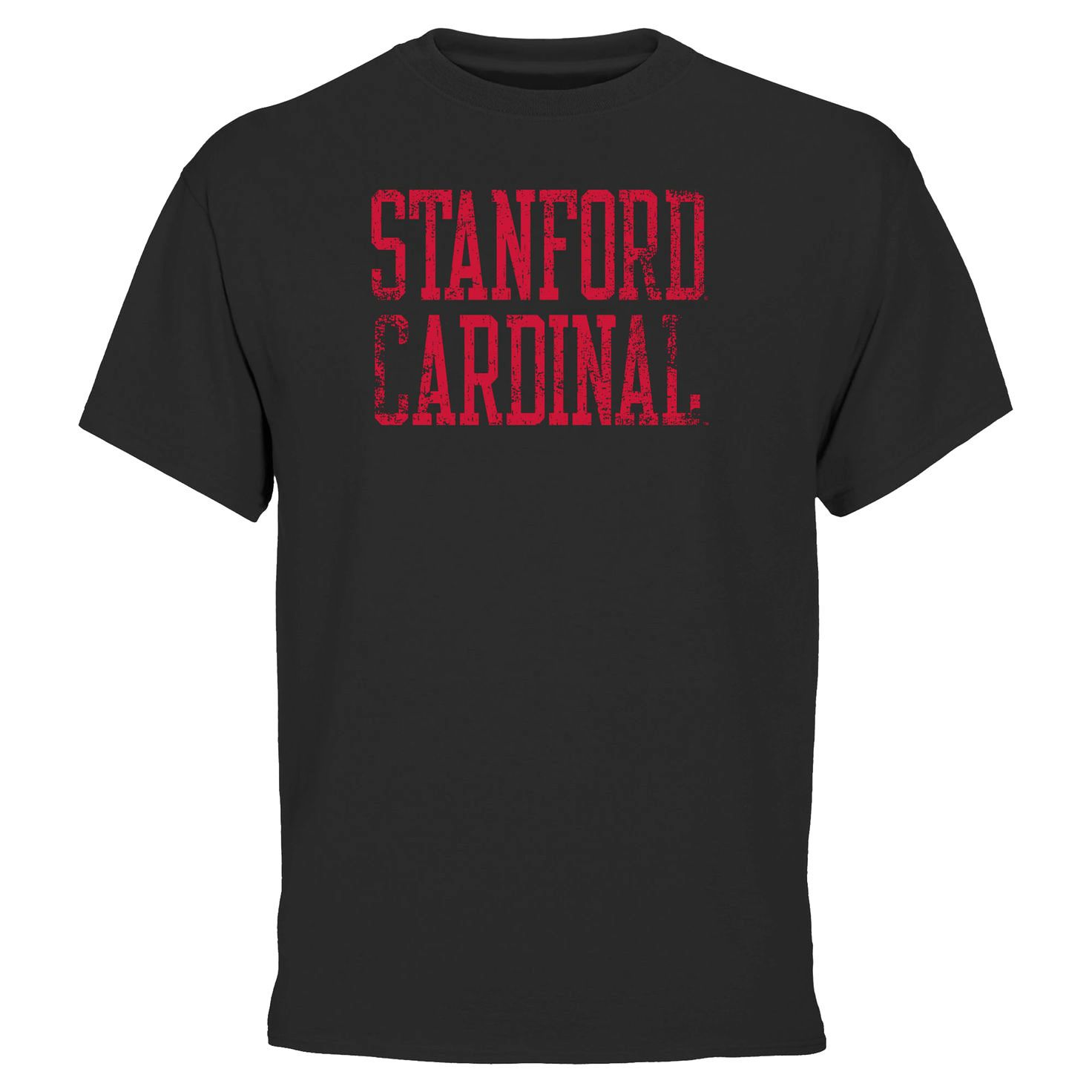 Stanford Cardinal Straight Out T-Shirt - Black - $6.64