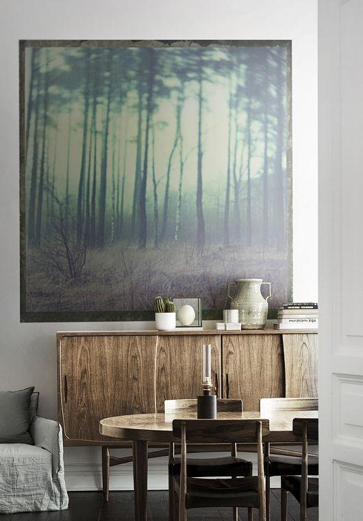 Pin von Kash Hughes auf Art Pinterest Kommode, Wohnen und - retro tapete wohnzimmer