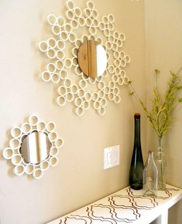 haus deko ideen spiegel rahmen selber machen | deko ideen, Garten und Bauten