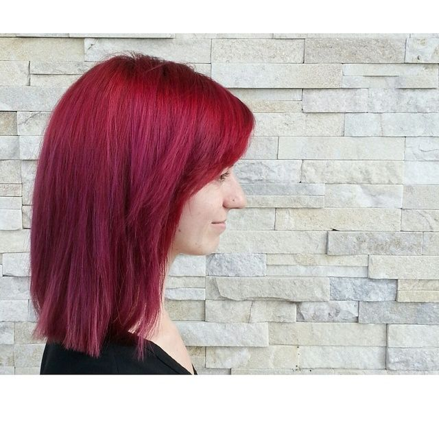 RED by mishuu on Bangstyle, House of Hair Inspiration