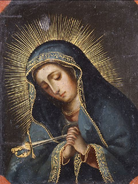 Mother of Sorrows | Our lady of sorrows, Blessed mother mary, Blessed virgin