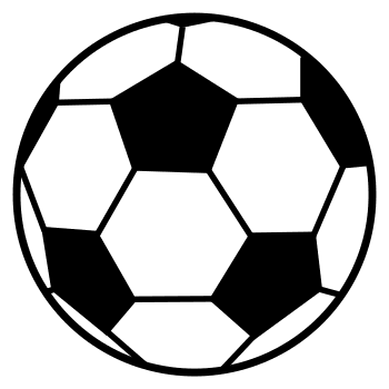 Sports And Ball Patterns Stencils And Clip Art Billiards Ball Patterns In 2020 Soccer Ball Soccer Kids Sports Room