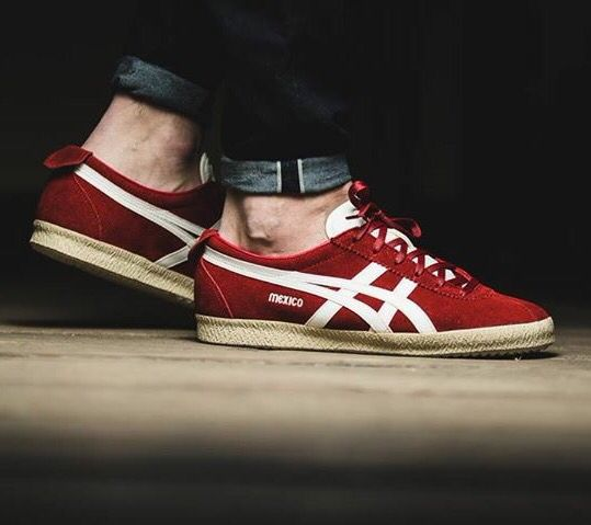 the latest bf8e3 ab4c6 Onitsuka Tiger Mexico Delegation  Red