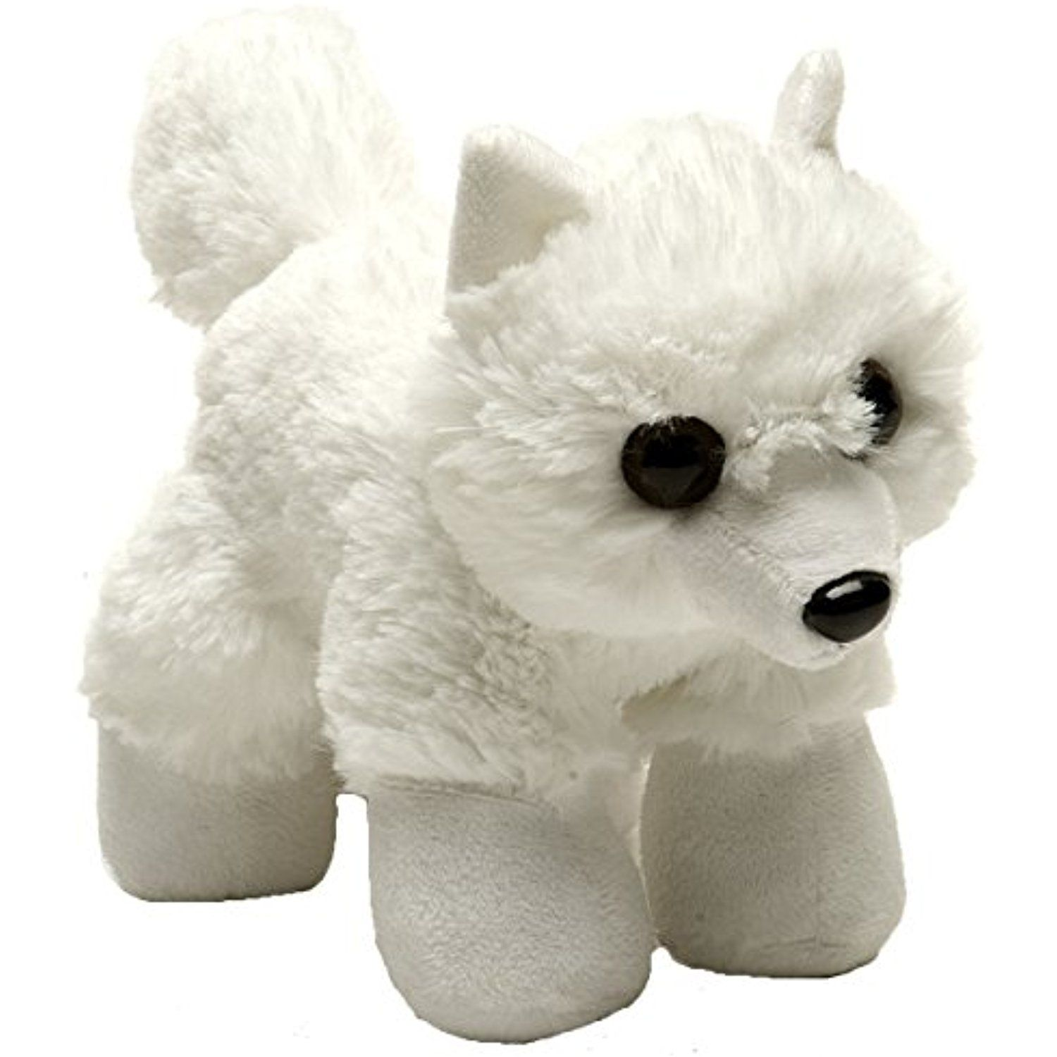 Wild Republic Hug Ems Arctic Fox Plush Toy ** Be sure to