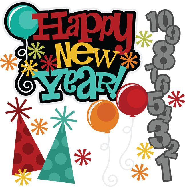 happy new year svg free svgs new years svg new years eve clipart new rh pinterest com free new year clipart free christian new years eve clipart