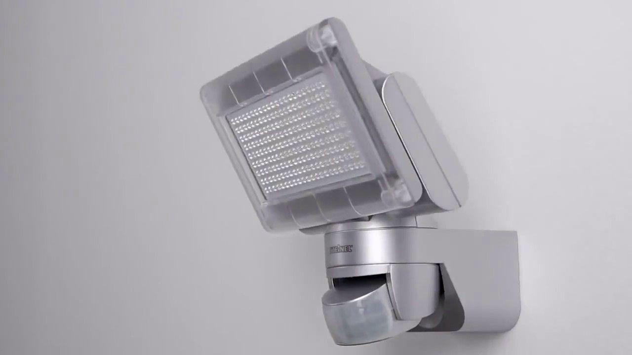 How To Install A Outdoor Motion Sensor Led Light From Steinel Germany Motion Sensor Lights Led Lights Motion Sensor