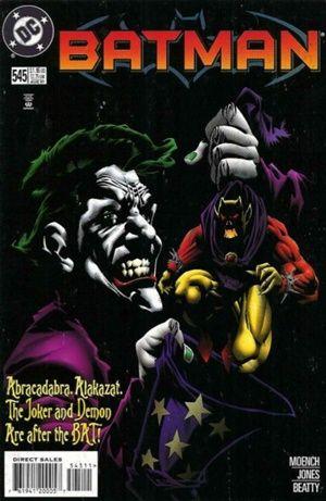 Cover for Batman #545