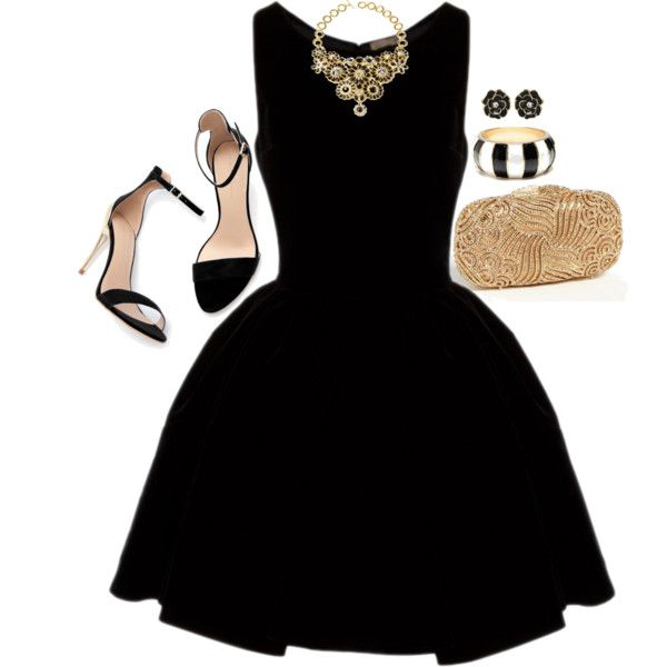 A Night Out   Bangle, Black cocktail dress and Lbd