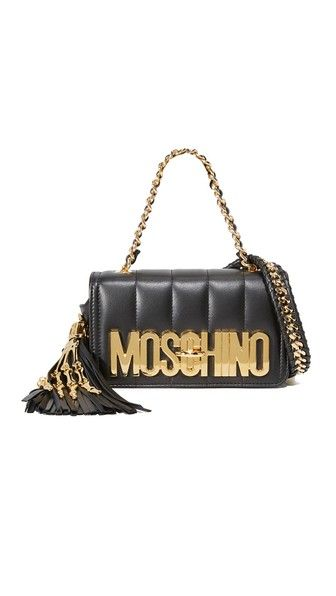 149f47d673 MOSCHINO Shoulder Bag. #moschino #bags #shoulder bags #hand bags #leather #