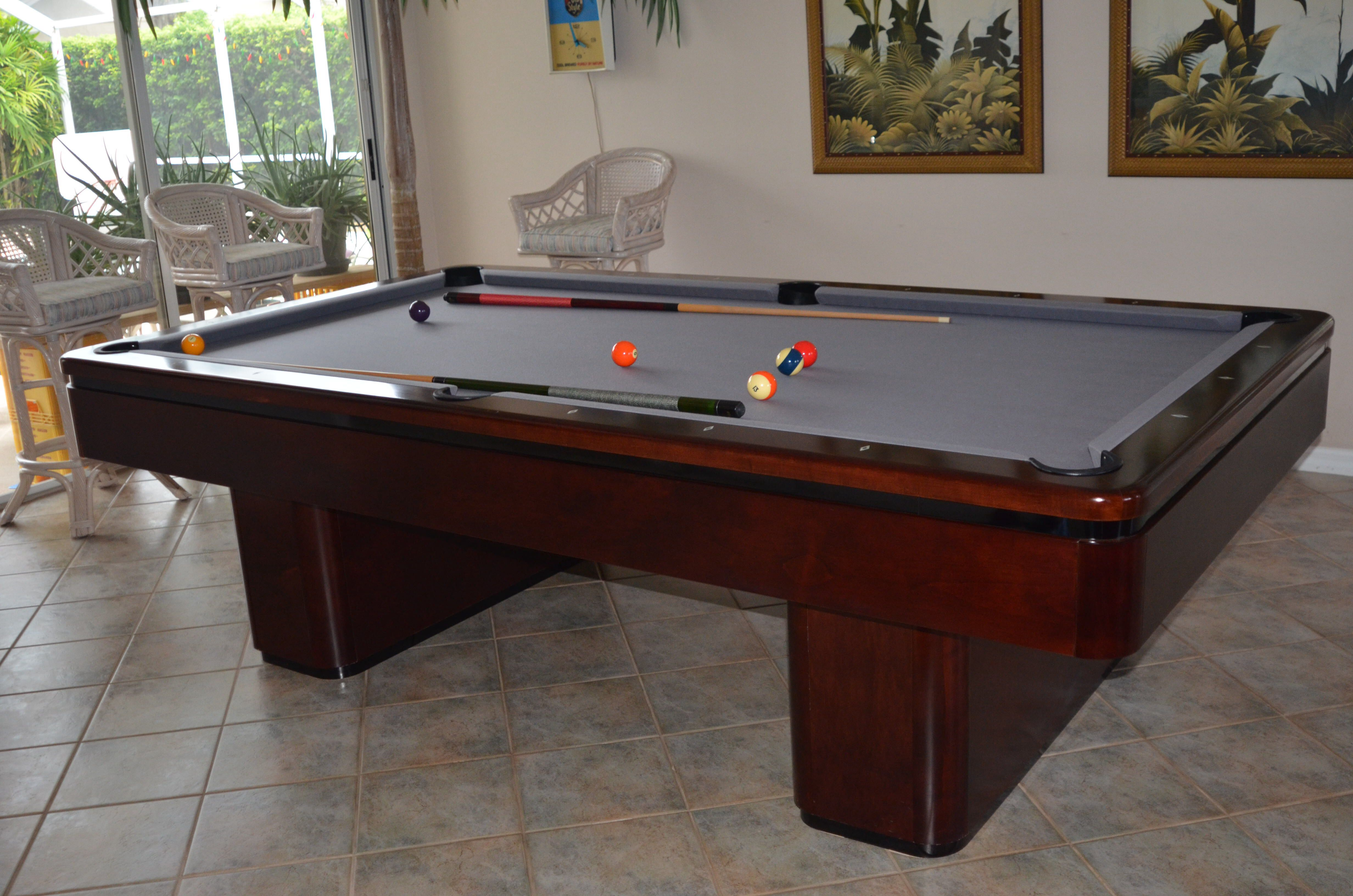 Craftmaster Solid Built Table They Look And Play Good Pool - Craftmaster pool table