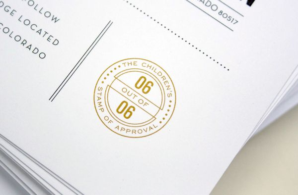 B&C Wedding Invites by Chad Michael, via Behance