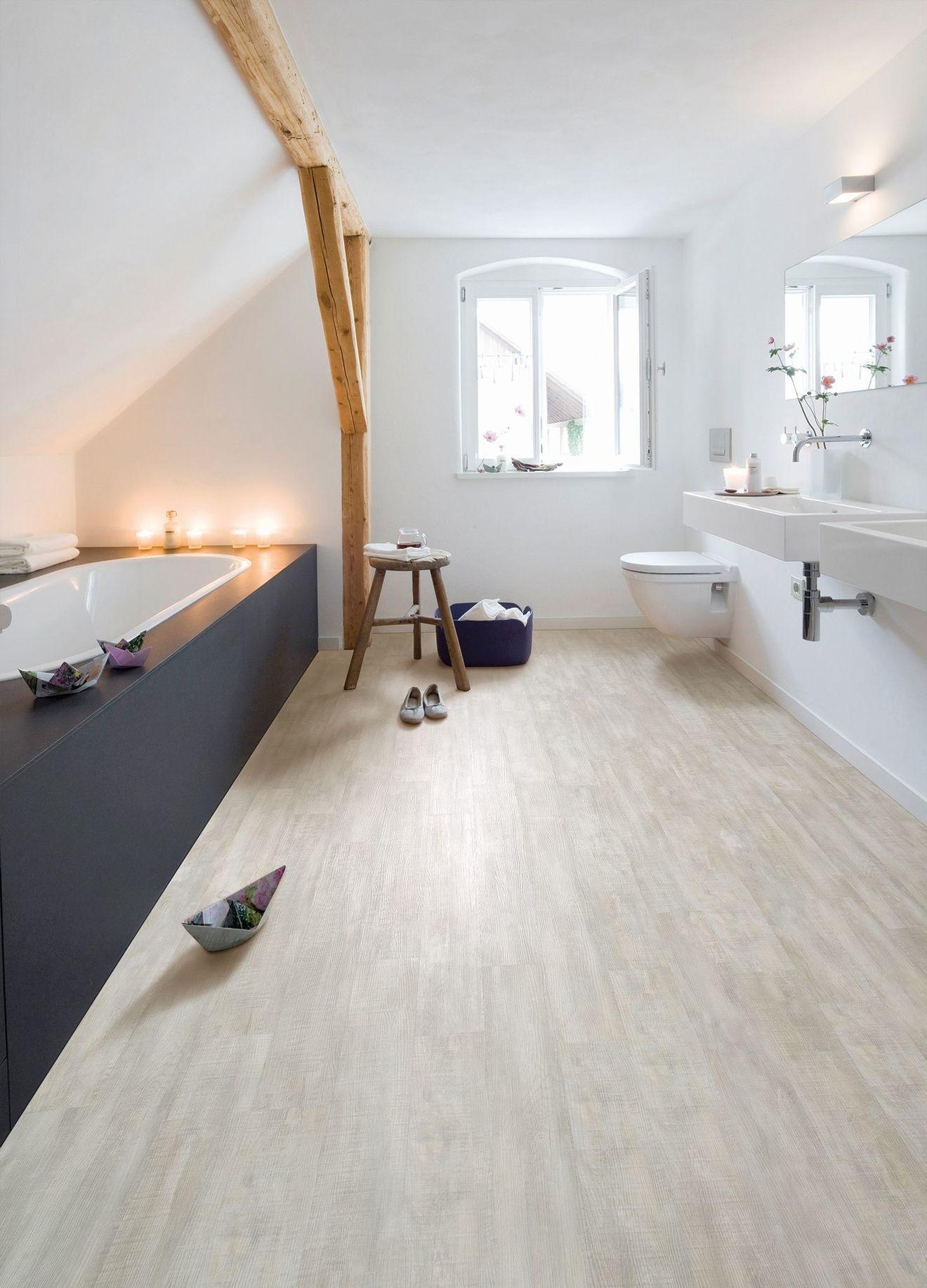 Sol pvc, vinyle : sélection  Salle de bains moderne, Revetement
