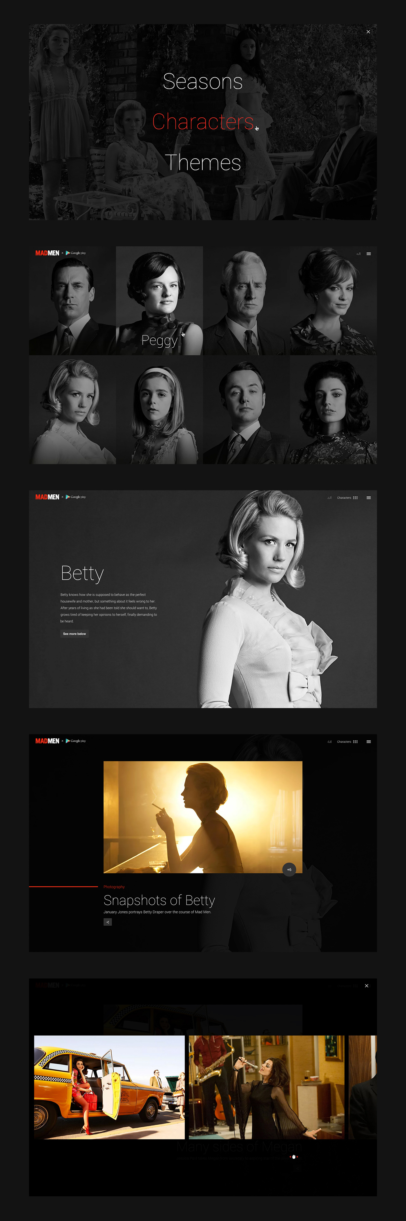 The Mad Men Experience on Behance