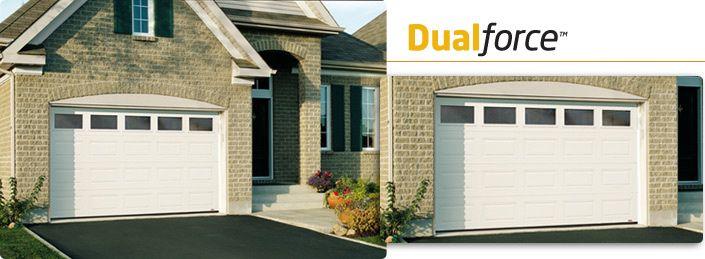 Model Classic 10 X 7 Ice White Clear Windows Residential Garage Doors Garage Doors Garage Door Manufacturers