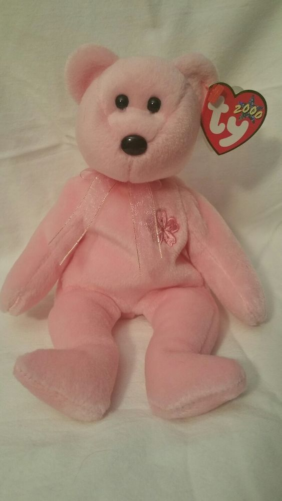 """aaf059fbf2a Ty Beanie Baby Toy Collectible SAKURA 8"""" Pink Bear Japan Exclusive Rare  Retired  TyBeanieBaby"""