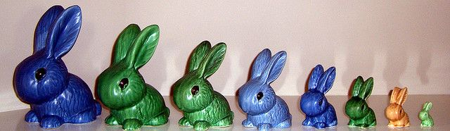 Sylvac Bunny Collection