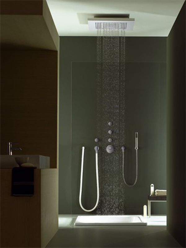 BIGRAIN Builtin rain shower Manufacturer Dornbracht