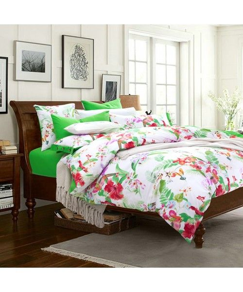 Egyptian Cotton Twill Duvet Cover Set [HBS 13 00066]. Bed SheetsDuvet ...