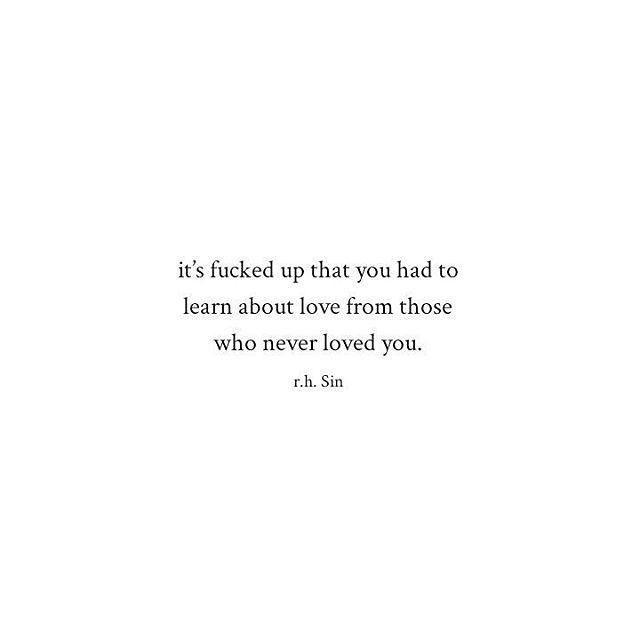 Sad And Depressing Quotes :Instagram photo by r.h. Sin • Jun 22, 2016 at 9:40pm UTC