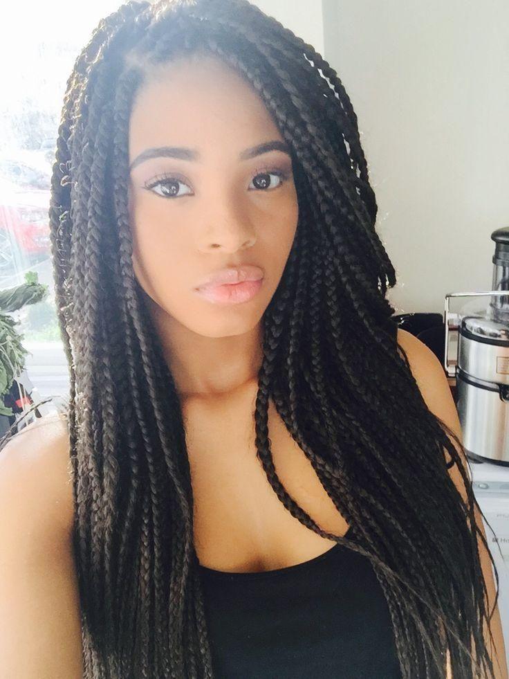Quelle coiffure cheveux afro tressée vous convient et