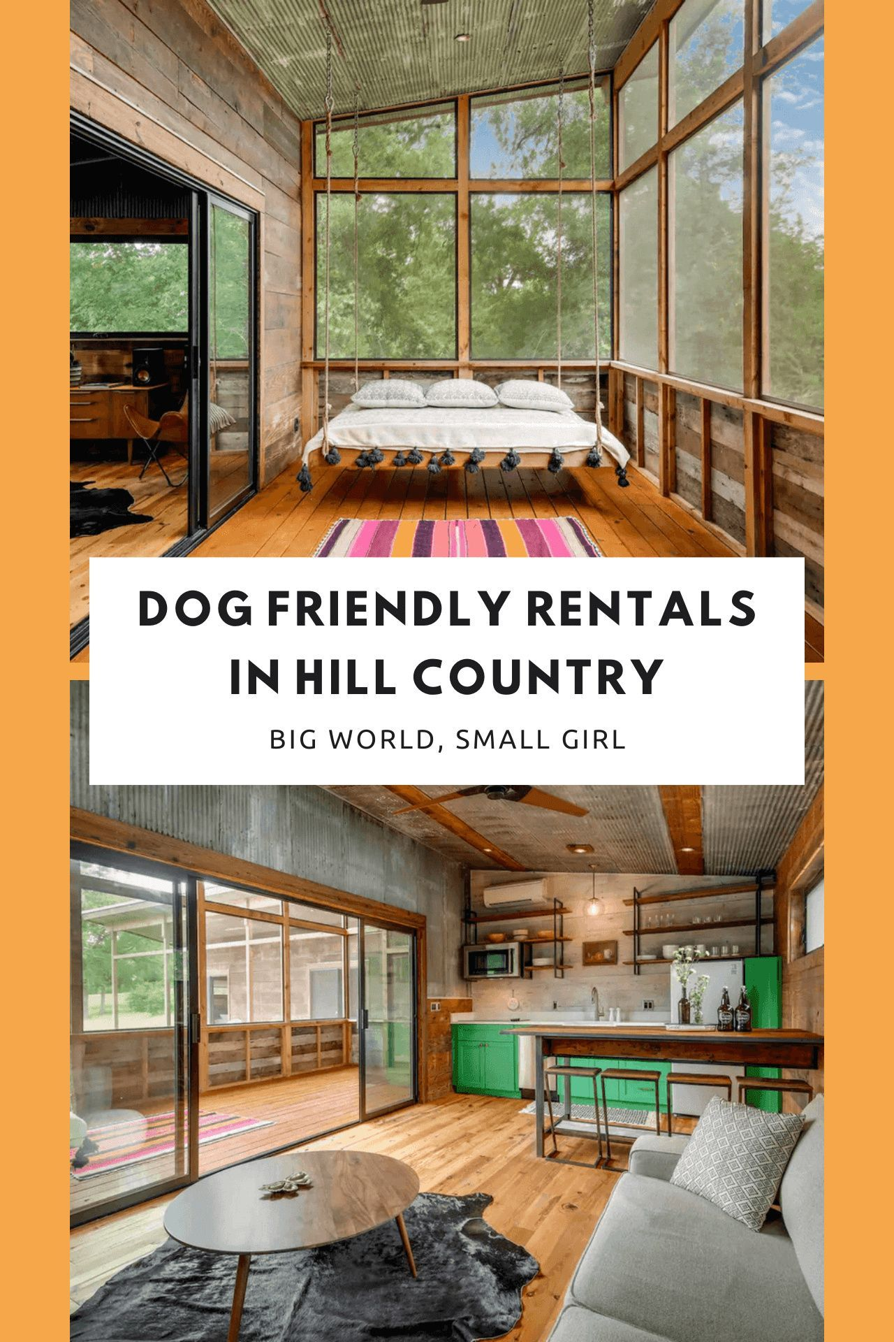 The Coolest Dog Friendly Rentals In Texas Hill Country In 2021 Dog Friendly Rentals Dog Friends Hill Country