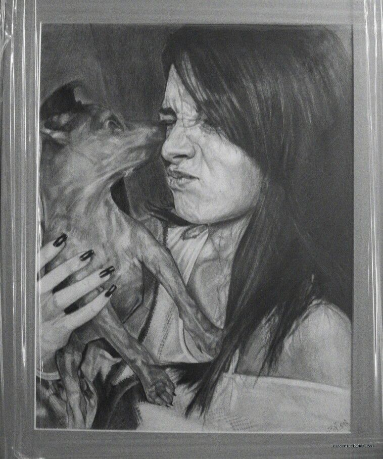 Beautiful...Portret of Elena and her dog!