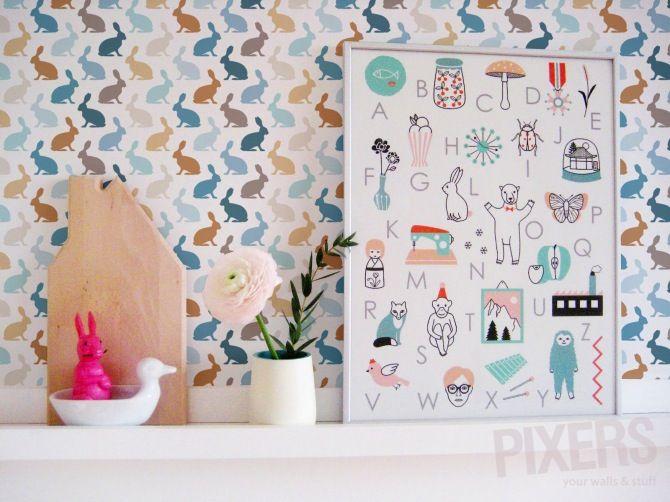 Déco Chambre Bébé - Papier Peint Enfant - | Room