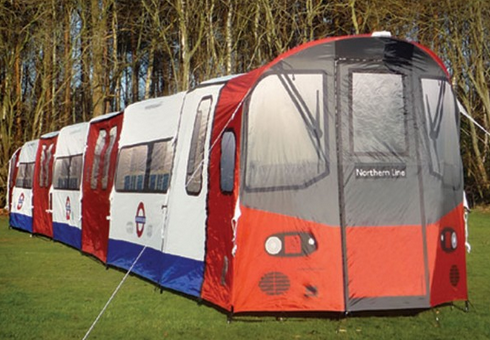 London Underground Tent Our Favourite 20 Man Tent! & London Underground Tent: Our Favourite 20 Man Tent!   Camping ...