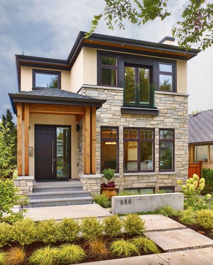 Small Modern Home Exteriors: Unique House Design, Modern