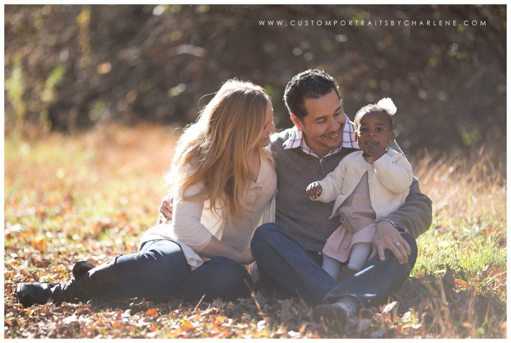 fall family portrait session pittsburgh family and