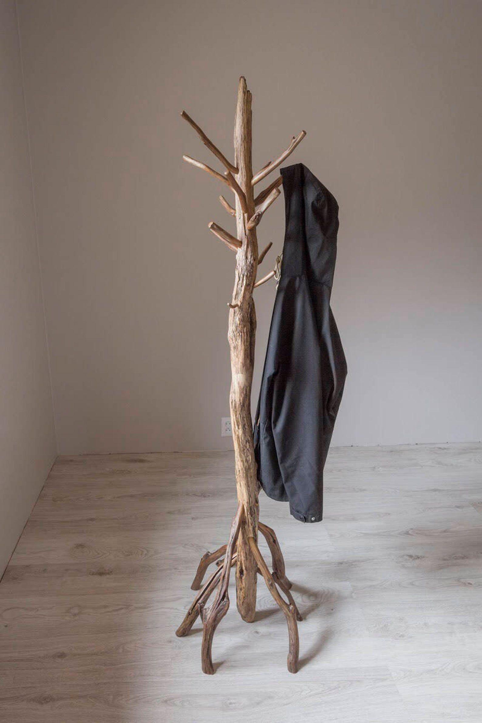 Free Stand Coat Rack Driftwood Rack Live Edge Coat Rack Etsy In 2020 Coat Rack Standing Coat Rack Coat Stands